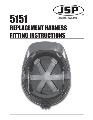 Comfort Plus 5151 Replacement Harness Fitting Instructions