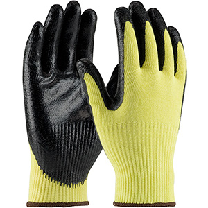 Kevlar with Solid Nitrile Grip
