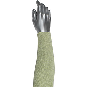 """Yellow Single Cut Resistant Sleeve Arm Protection 10/"""" 18/"""" 22/"""" Protection Goves"""