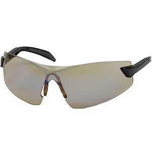 BOUTON OPTICAL 250-34-0021 Supersonic Safety Glasses With Gray Anti-Fog,
