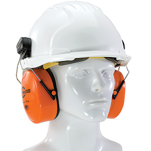 Helmet Mounted Ear Muffs