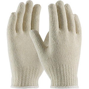 Cotton/Polyester Knit Glove