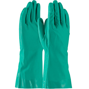 Nitrile Gloves Flocked Lining
